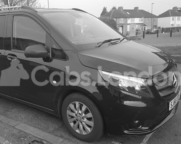 Cab To Aldershot From London