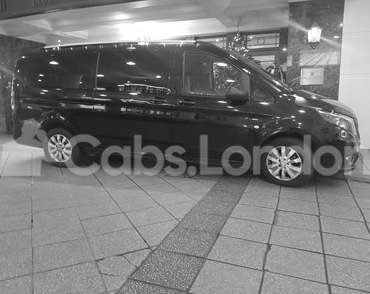Cab To Preston From London
